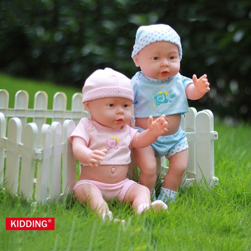41cm Full Vinyl Reborn Newborn Baby Dolls Boys Girls Childrens Toys Gifts Collections