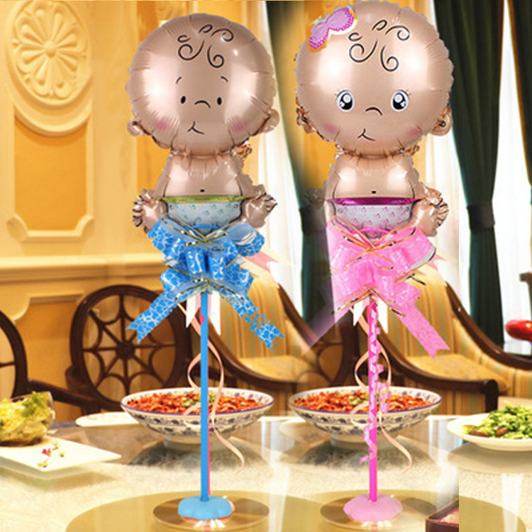 VIPOINT PARTY 45x28cm boys girls baby foil balloons wedding event christmas halloween festival birthday party HY 314 in Ballons Accessories from Home Garden