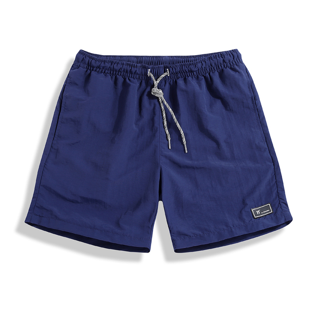 Beach Shorts for Men Solid Colors  3