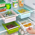 Nueva caja de almacenamiento Frigorífico fresca capa espaciadora multiusos rack de almacenamiento de suministros de cocina creativa tipo Cajón de contracción