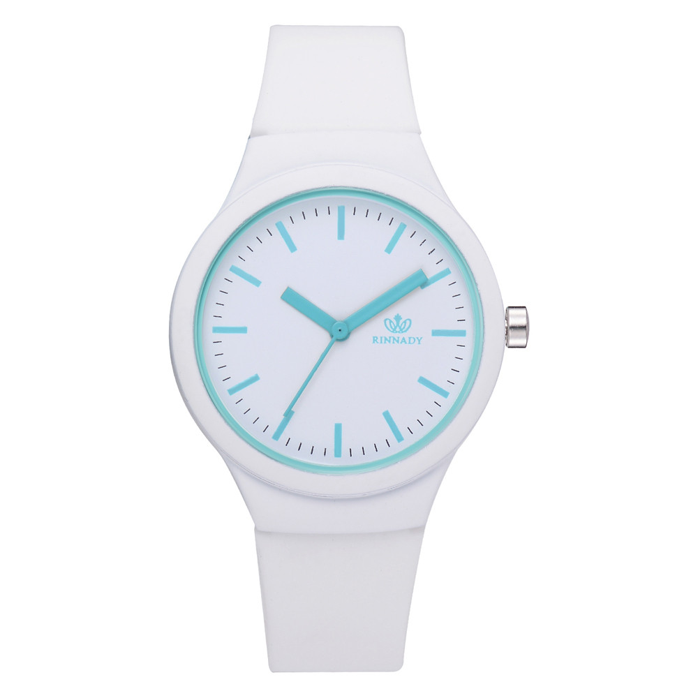 Best Selling Brand Female Watch Simple Fashion Candy Color Women's Watch Ladies Dress Analog Quartz Clock Clock Dropshiping #W