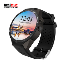 2016 New Smartwatch KW88 Smart Uhr 3G WIFI SIM Herz Rate Monitor Uhr Telefon GPS Tracker Andriod IOS 2.0 Mt Kamera Bluetooth