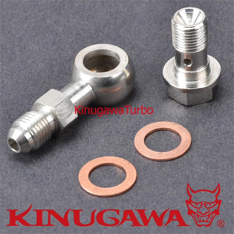 цена на Kinugawa Turbo Banjo Bolt Kit 7/16