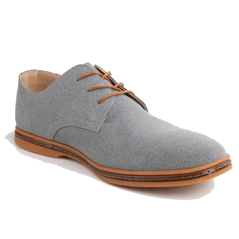 Men shoes Oxford Genuine   Leather   Casual Shoes Dress Shoes Male Flats Gentleman Shoes Luxury Lace-Up Solid zapatos hombre