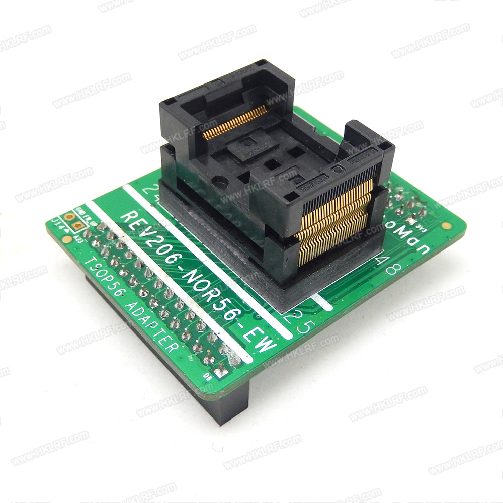 Image 4 - TSOP56 Adapter Socket For NAND ProMan TL86 PLUS Programmer FLASH REV206 NOR56 EW Free Shipping-in Integrated Circuits from Electronic Components & Supplies