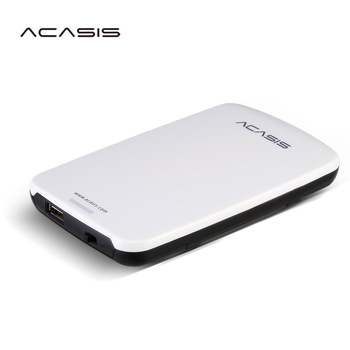 "Free shipping On Sale 2.5""  ACASIS Original 120GB Storage USB2.0 HDD Mobile Hard Disk External Hard Drive Have switch power"