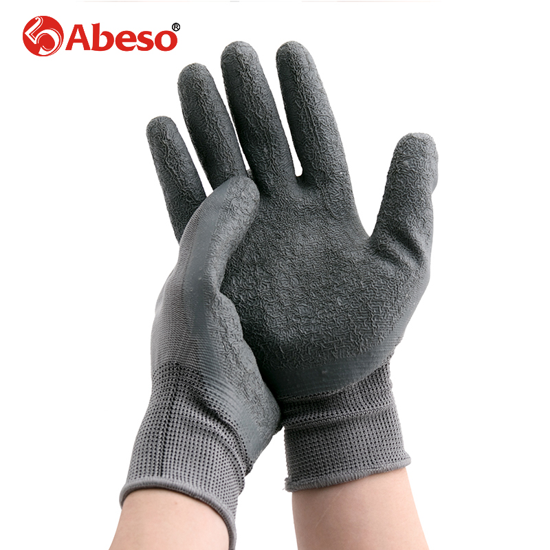 Abeso Durable Quality HPPE+PU Heather Grey Agriculture Safety Cut Stab Proof Resistant Protective Mesh Butcher Gloves платье conso wear conso wear co050ewwxj38