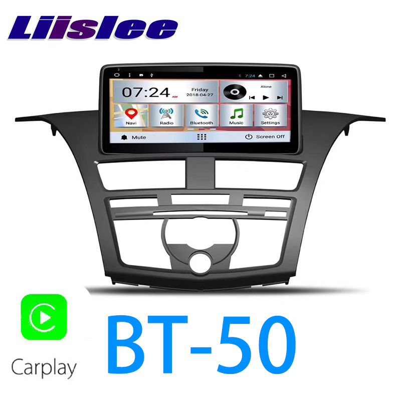 Clearance LiisLee Car Multimedia GPS Audio Radio Stereo For Mazda BT 50 BT50 2011~2018 Original Style Navigation NAVI 0