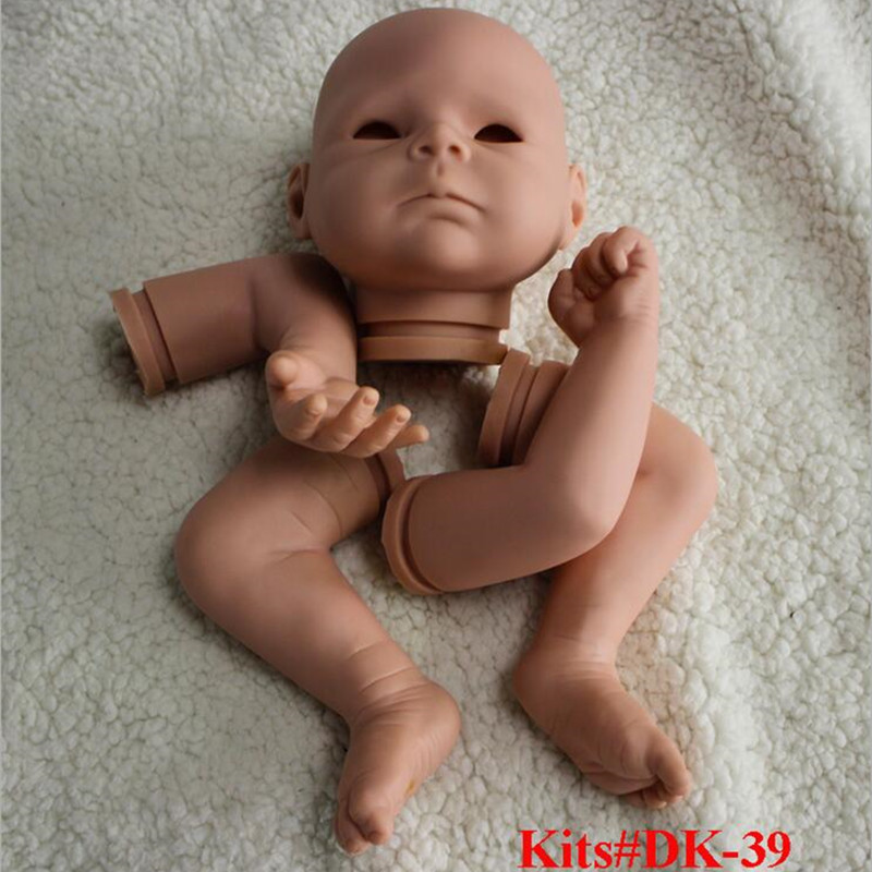 Reborn Doll Kits for 18inches Soft Vinyl Reborn Baby Dolls Accessories for DIY Realistic Toys for DIY Reborn Dolls Kits#dk-39 good price reborn baby doll kits for 17 baby doll made by soft vinyl real touch 3 4 limbs unpainted blank doll diy reborn doll