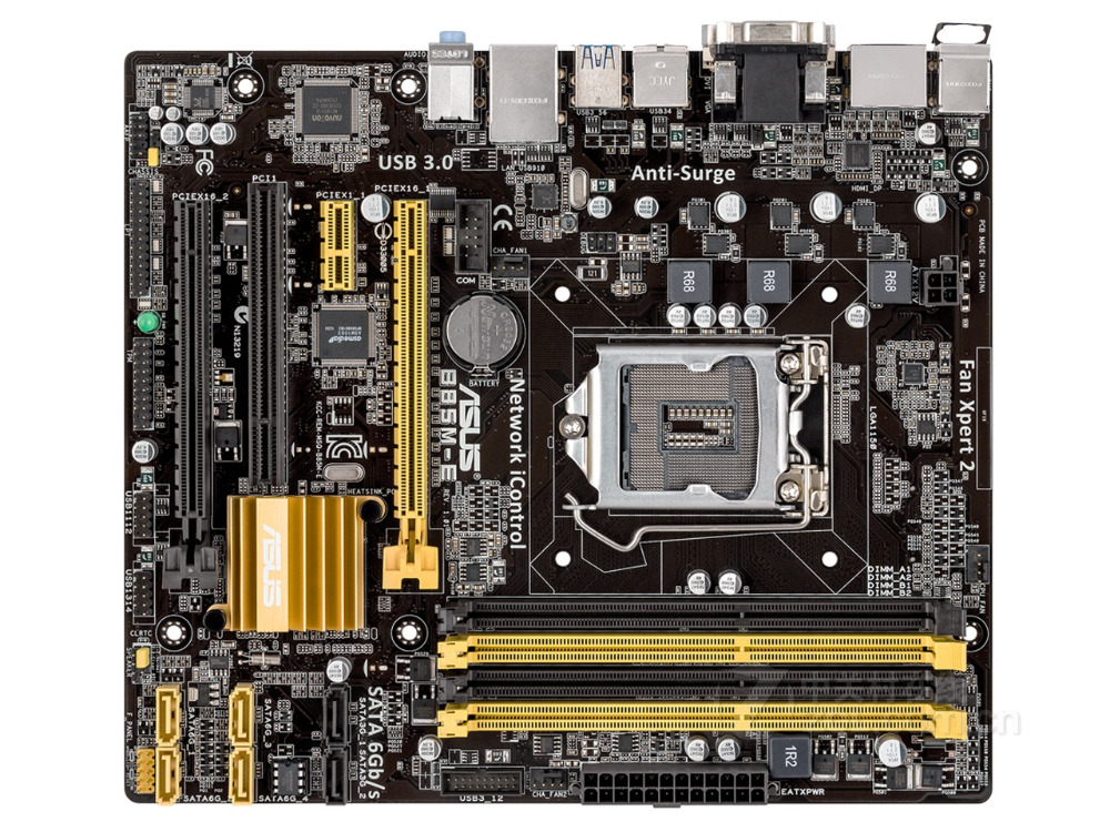 original motherboard ASUS B85M-E DDR3 LGA 1150 USB2.0 USB3.0 for I3 I5 I7 CPU 32GB B85 Desktop motherboard Free shipping цена
