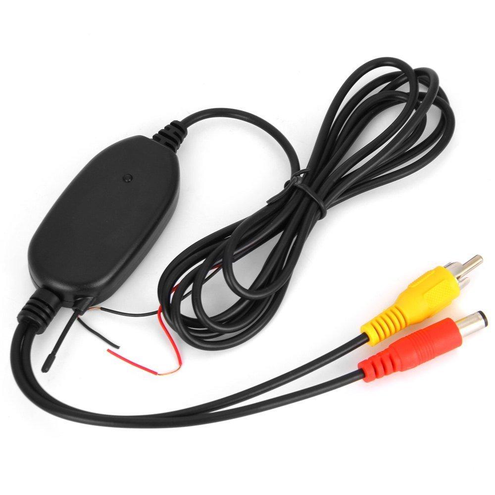 BYNCG W0 2.4 Ghz անլար RCA վիդեո հաղորդիչ և - Ավտոմեքենաների էլեկտրոնիկա - Լուսանկար 3