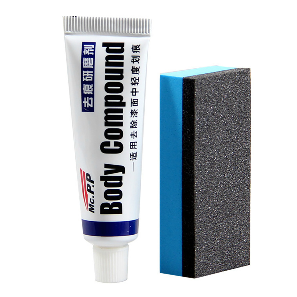 Car Body Compound Mc308 Paste Set Scratch Paint Care Auto Polishing&grinding Compound Car Paste Polish Care Relieving Heat And Thirst. Spot Rust & Tar Spot Remover