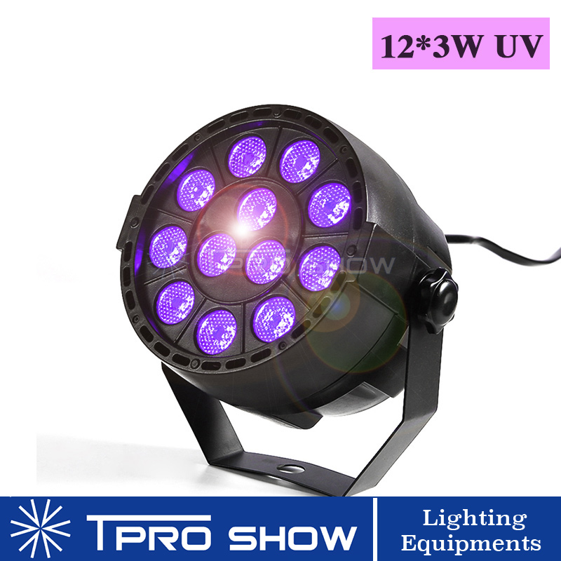 Image 3 - UV Disco Light Ultraviolet LED Strobe Dimming Mini Stage Lights Purple Lamp Projector DMX Blacklight for Small Party Pub DJ ClubStage Lighting Effect   -