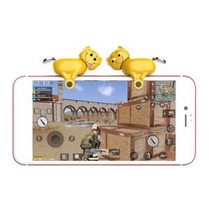 1 Pair Gamepad Trigger Button Spring Han