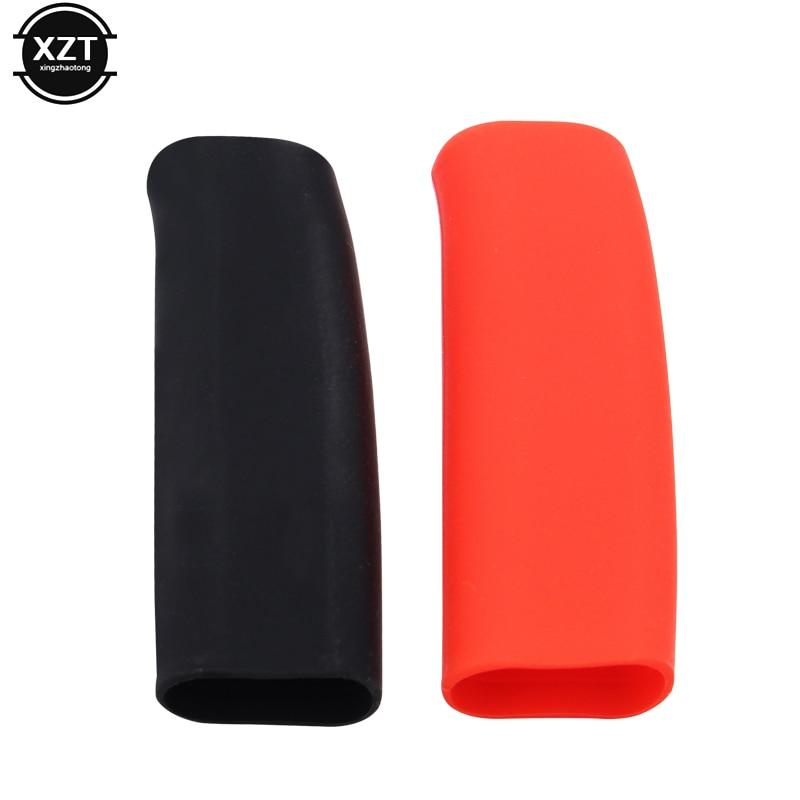 Anti slip Car Handbrake  Covers Sleeve Silicone Gel Case Parking Hand Brake Grips Sleeve Universal Decoration  Auto Accessories|Handbrake Grips| |  - title=