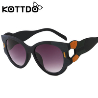 8c4a392303 KOTTDO Fashion Sexy Stitching Color Frame Large Sunglasses Women Cheap Sun  Glasses Goggle Retro Eyeglasses Female