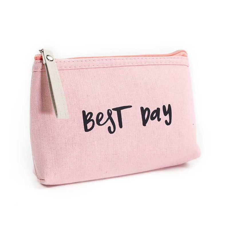 Hot Sale Women Letters cosmetic bag makeup bag neceser make up bag travel organizer Zippe cosmetic bag for cosmetics unicorn 3d printing fashion makeup bag maleta de maquiagem cosmetic bag necessaire bags organizer party neceser maquillaje
