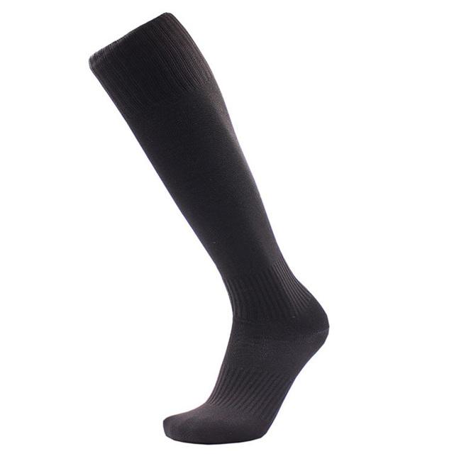 Solid Color Knee High Compression Socks