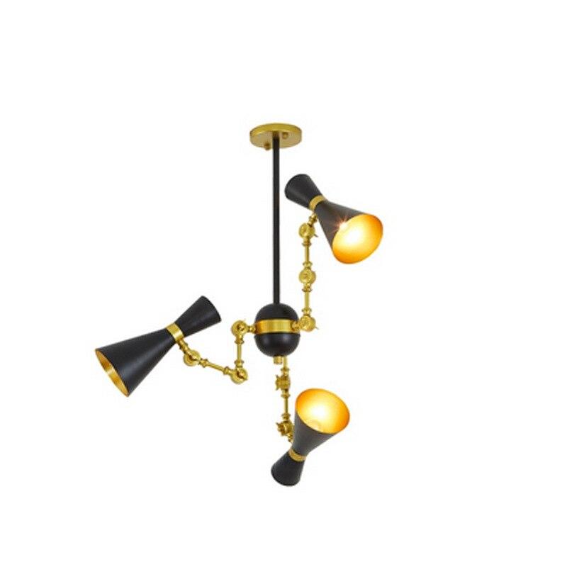 Modern minimalist iron creative adjustable chandeliers corridors porch lamps balcony lighting hall entrance lights (8)