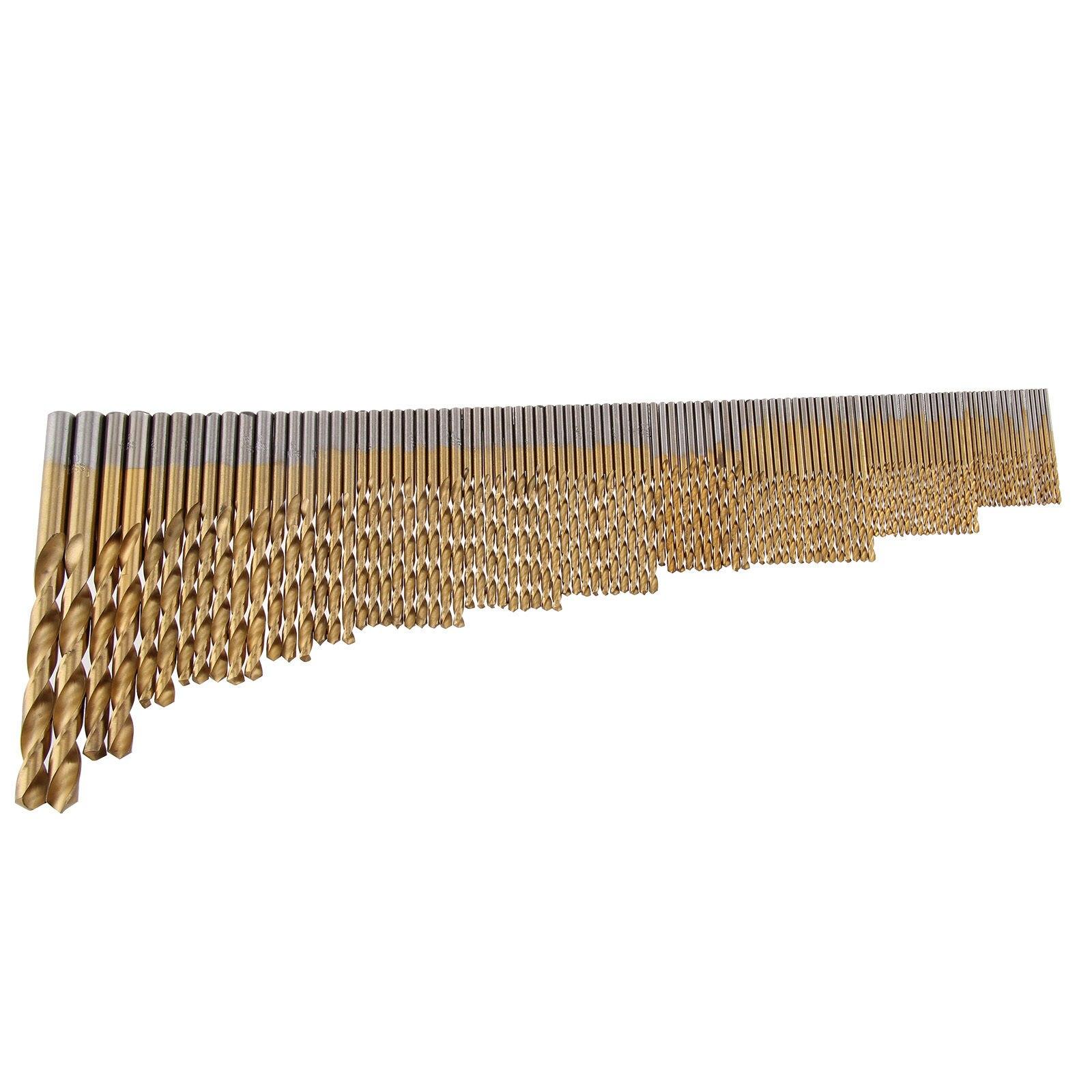 105 шт набор сверл для нержавеющей стали Металл HSS-Co Кобальт бит Титан
