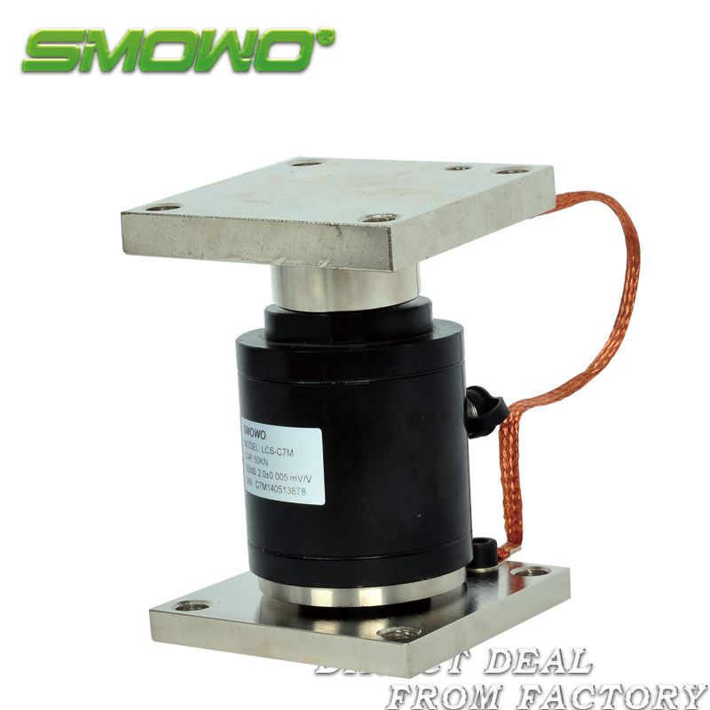 Load cell sensor LCS-C7M  weighing module (1/2/3/5/10/15/20/30/50/100t) sensor load cell summing junction box rw jx4a multi road 4 channels