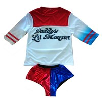 Cheap Suicide Squad Harley Quinn Shorts Daddy S Lil Monster T Shirt Sexy Shorts 2016 Harley