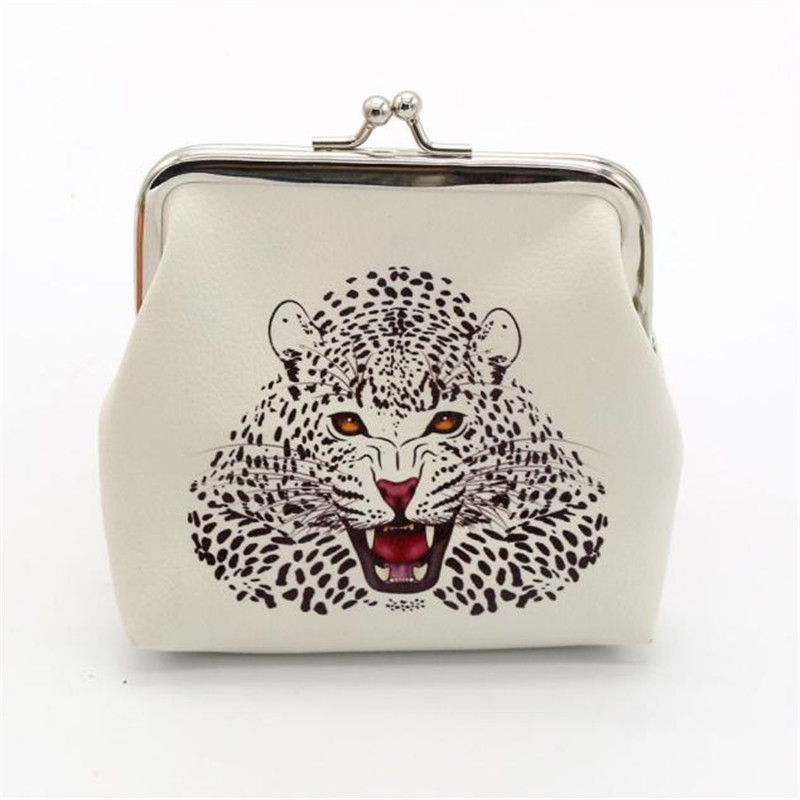 Brand new Fashion womens purse Lady Retro Vintage leopard Small Wallet Hasp Purse Clutch Bag Gift portefeuille femme wholesale