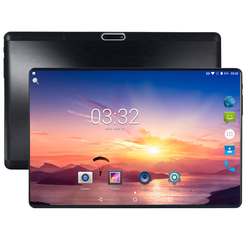 Hard 2.5D Glass 10 Inch Tablet Android 8.0 Octa Core 4G FDD LTE 4GB RAM 64GB ROM 8 Cores 1280x800 IPS Screen GPS Tablets 10.1