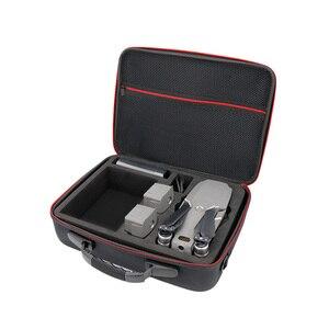 Image 3 - Controle Remoto inteligente com Tela & drone & maleta bolsa de ombro bolsa de saco de Peças De Reposição para DJI bateria Mavic 2 pro zoom
