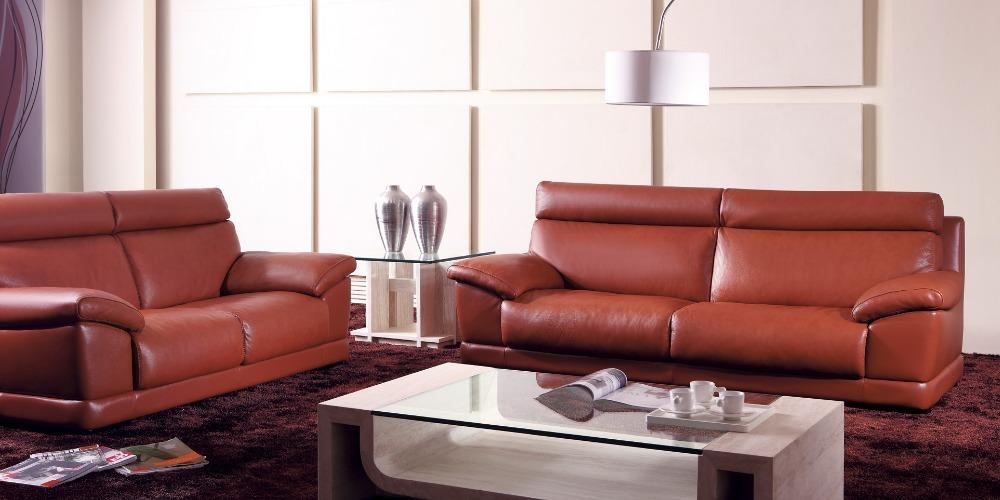 Kuh Echtes Leder Sitzgruppe Wohnzimmer Mbel Couch Sofas Sofa Schnitts Ecke Versand Nach