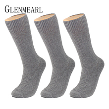 Thick Cotton Men Socks Quality Brand Business Fall Winter Hosiery Warm Plus Size Compression Coolmax Dress For Male