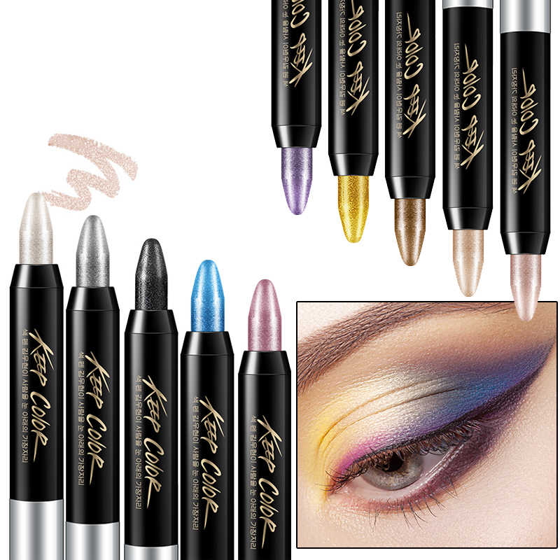 ROREC тени для век Карандаш большой Smokey Eyes Shimmer Eye Shadow Stick Jumbo Eye Shadow Eye Liner Карандаш блеск макияж карандаш