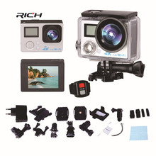 S200DR 4K Action Camera 2.0 Double LCD Display 16MP Sports WiFi Camera 30M Waterproof 170 angle HDMI sport camera