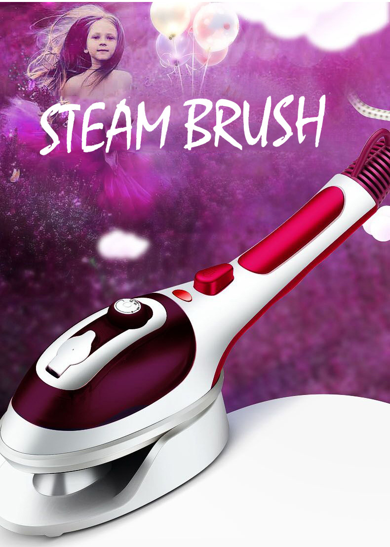 Hand - held steam brush ceramic underplate hanging ironing machine  portable steam iron brush GOODHand - held steam brush ceramic underplate hanging ironing machine  portable steam iron brush GOOD