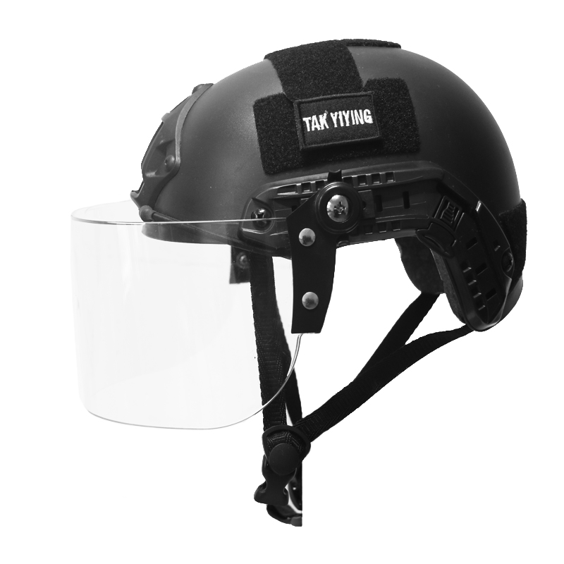 TAK YIYING Military Airsoft Protection FAST Helmet With Protective Goggle MH Type Helmet Jump Tactical helmet