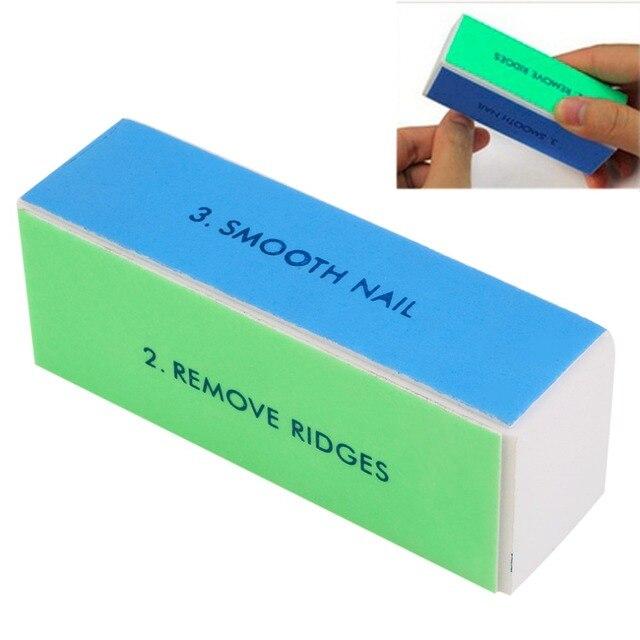 Buffer Buffing Sanding Files Women S Acrylic Pedicure Manicure Polish Nail Block 4 Way