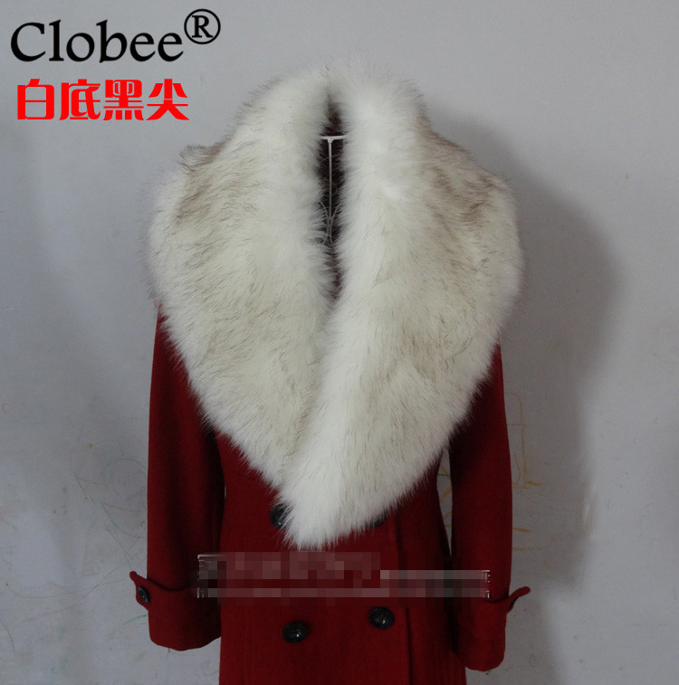 Buy Cheap Good Quality 2019 New Women Faux Fox Fur Collar Scarf Winter Thick Warm Luxury Ladies Large Shawl Wrap Stole Cape 8 Colors X656 An Enriches And Nutrient For The Liver And Kidney Apparel Accessories