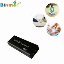Del Negro Mini 3G/4G WiFi Wlan Client 150 Mbps RJ45 Hotspot AP Wireless USB Router Mar11