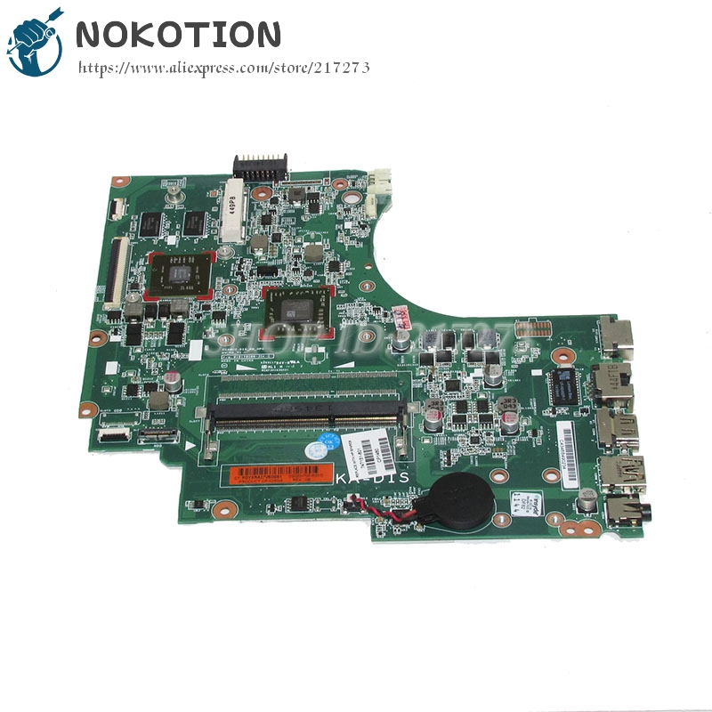 NOKOTION 747151-601 747151-001 Laptop Motherboard For hp 255 G2 15-D Main Board HD 8570 A4-5000 CPU DDR3 nokotion 627756 001 laptop motherboard for hp mini 210 2000 pc main board with n455 cpu onboard ddr3