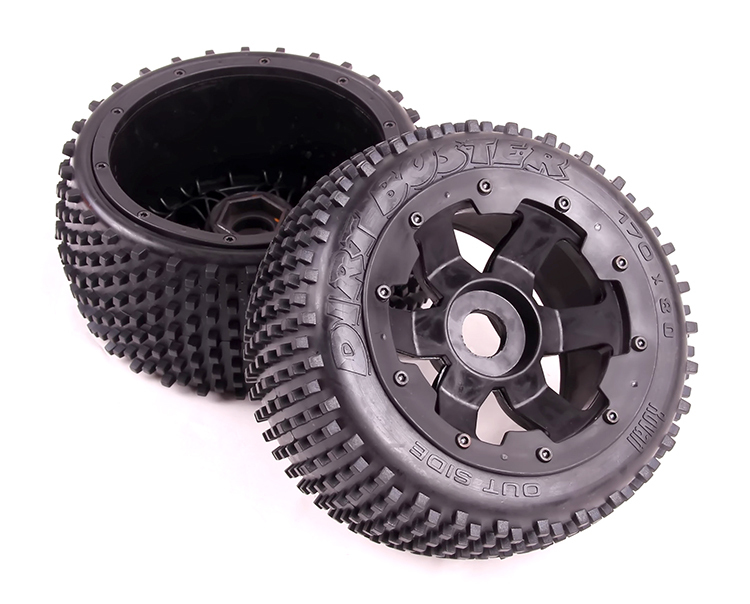 Baja upgrade version of the 5B two generation hub off-road rear tire!!Free shipping baja 5b ii front wheel off road tire assembly