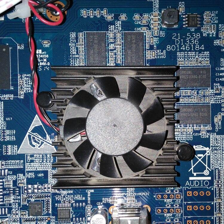 Nouvelle D'origine pour DaHua DVR NVR MAGNÉTOSCOPE carte mère BGA CPU Cooler Fan 5 V, Ventilateur De la Boîte 5 V, puissance ventilateur 12 V ventilateur De Refroidissement