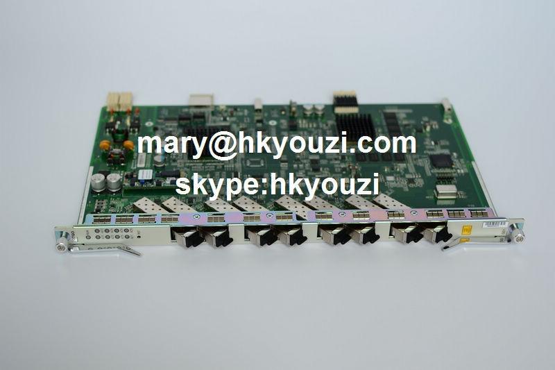 GTGOG C ++, 8 portos GPON OLT vonalkártya GTGOG (8 db GPON-OLT - Kommunikációs berendezések - Fénykép 1
