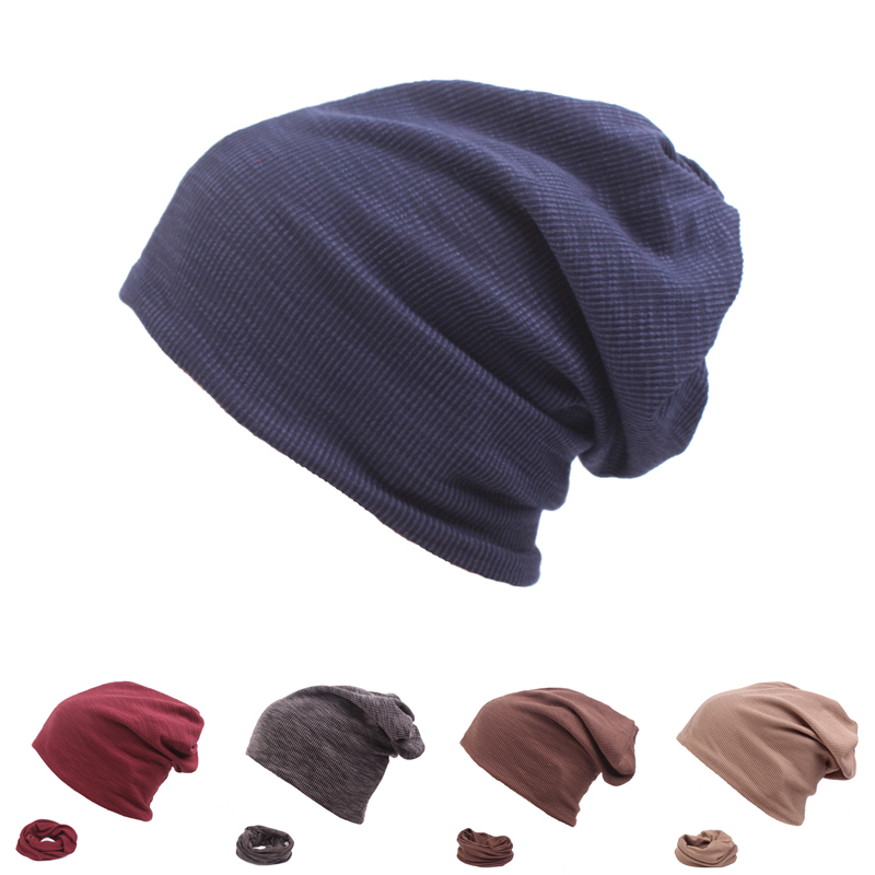 Brand Solid Autumn Winter Hat For Men Women   Skullies     Beanies   Fashion Warm Caps Unisex Elasticity Knit   Beanie   Hats for Ladies