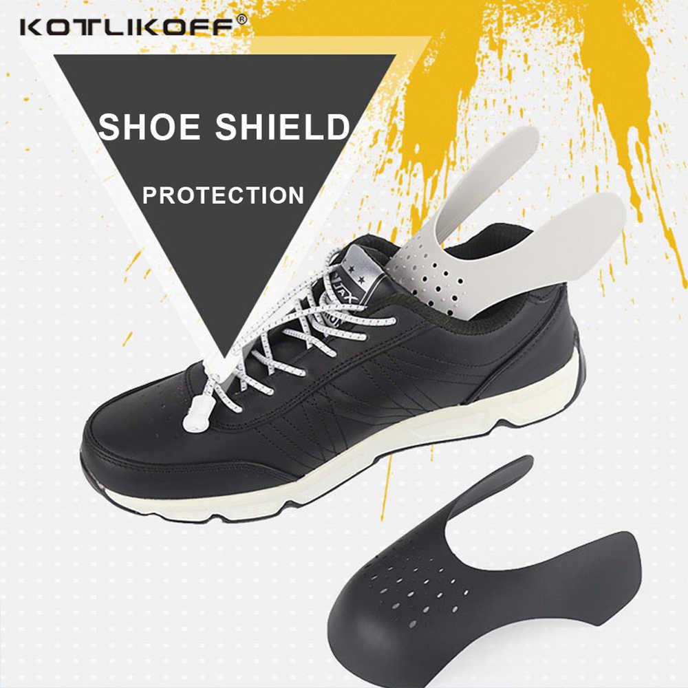 KOTLIKOFF защитный экран бальные туфли щит анти-складки обувь поддержка носок колпачок взрывозащищенный невидимая обувь поддержка