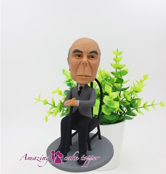 2019 AMAZING CAKE TOPPER Toys Kindly and amiable old man And Groom Gifts Ideas Customized Figurine Valentine's Day