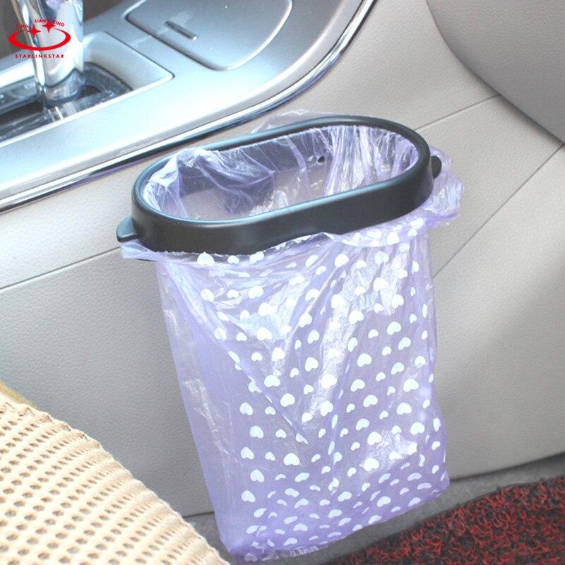 1 St Opvouwbare Auto Organizer Frame Voor Auto Vuilniszak Auto Prullenbak Auto Accessoires Auto Vuilnis Houder Opbergtas Laatste Mode