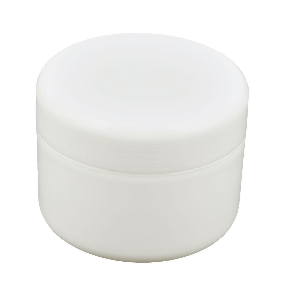 UXCELL Women Plastic Makeup Cosmetic Empty Jar Pot Face Cream Skin Lotion Moisturizer Bottle Container 250G White