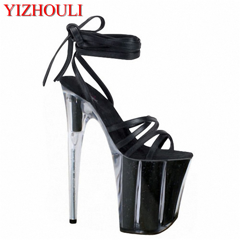 Sexy Appeal Shoes Singer Performances Dance Shoes Factory Direct Selling Price Temperate Sandals With 20cm High And Big Star Office & School Supplies