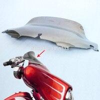 1 Pcs 8 Windshield Metallic Smoke Wave Windscreen For 1996 2013 Harley Electra Glide UltraClassic Street