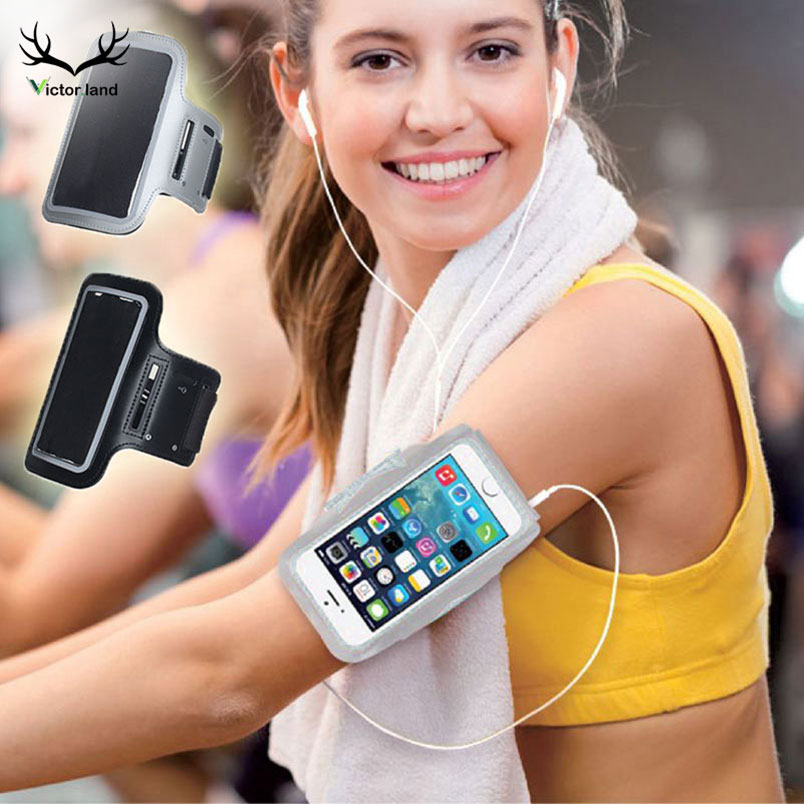 Black Gym Sport Armband For Samsung Galaxy S8 Note 9 8 S6 S7 Edge A5 J7 2017 S9 Plus A8 2018 J5 2016 Arm Band Phone Bag Case Online Discount